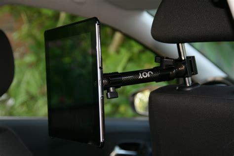 support tablette voiture entre 2 sieges test accessoire pour tablette support fixation