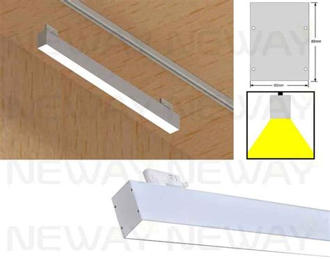linear track lighting fixtures 24w 36w 48w 60w led track light linear led pendant track