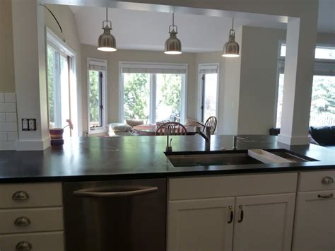 kitchen island with posts incorporate a support post into kitchen island kitchen