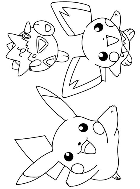 pokemon coloring pages omalovanky