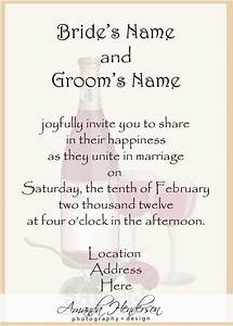 wedding structurewedding structure With wedding invitation text bride and groom hosting