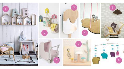 objet deco chambre de jolis objets déco en bois pour les enfants