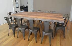Farmhouse Dining Room Table Seats 12 by NEW LONG 12 SEATER RUSTIC TIMBER DINING TABLE SET FARMHOUSE VINTAGE CAFE CHAIRS