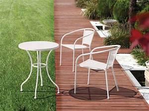 Meuble De Jardin Pas Cher : table basse salon de jardin gifi ~ Dailycaller-alerts.com Idées de Décoration