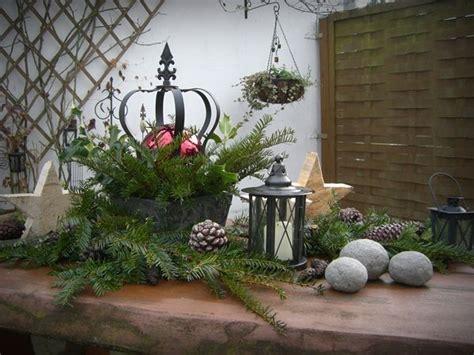 Weihnachtsdeko Auf Dem Gartentisch by Dieses Jahr Habe Ich Drau 223 En Meinen Gartentisch Mit Meiner