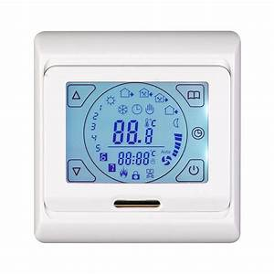 Electric Underfloor Heating Touch Screen Thermostat