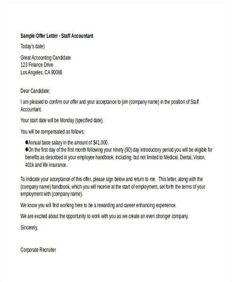 job offer letter   premium templates