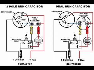 Start Capacitor Vs  Run Capacitor Why You Can U0026 39 T Store A  C