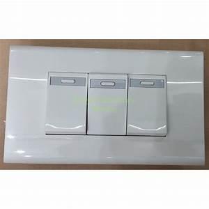 Saklar Triple    Tiga Tanam Panjang Panasonic Wej 5531