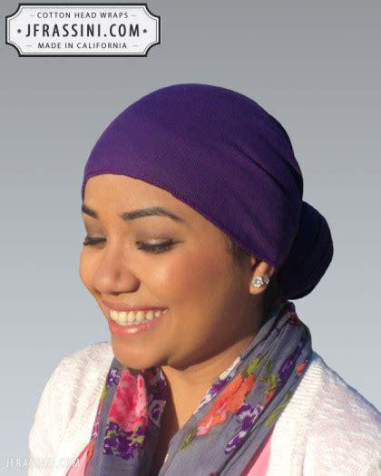 cotton purple head wrap bandanas bandanas  rags