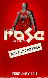 Derrick Rose poster by Tracy1 on DeviantArt