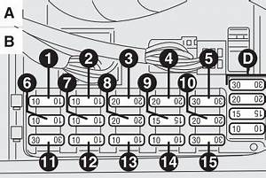 Alfa Romeo 156  2003 - 2006  - Fuse Box Diagram