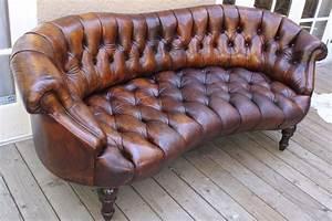 Unique, Leather, Tufted, Sofa, C, 1920, U0026, 39, S, At, 1stdibs