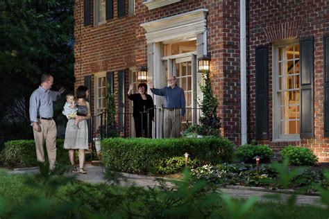 outdoor lighting provides the transformation to your home