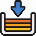 Inbox Icon Icons Arrows