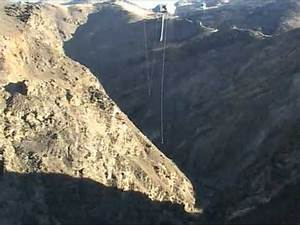Insanely massive bungy jump, highest in New Zealand - YouTube