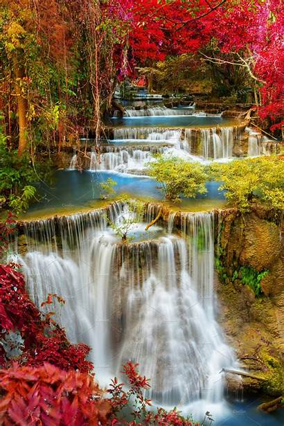 Water Fall Nature Creative
