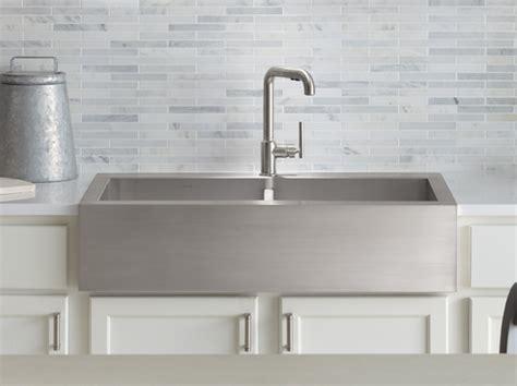 overmount apron sink canada kohler canada vault smart divide 174 equal apron