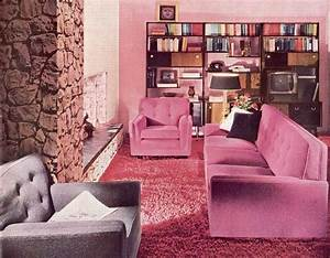 Deco Wallpaper Designs Living Room Inspiration 60s 70s Living Room