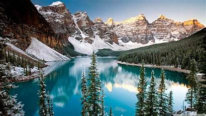 Canada Wallpapers Background Winter Landscape Backgrounds Nature