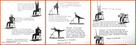 Chair Exercise Routine For Seniors by Poses For Elderly Work Out Picture Media