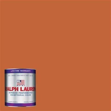 ralph 1 qt varsity orange eggshell interior paint