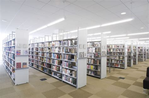 modern library designs modern library shelving in illinois archives bci