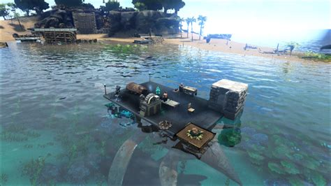 Ark Boat Glitch by X Turret Plant Thingy General Discussion Ark
