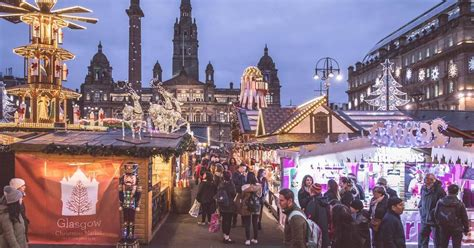 glasgow christmas markets     george square