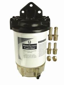 Marine Warehouse Element Water Screen Fuel Filter Assembly