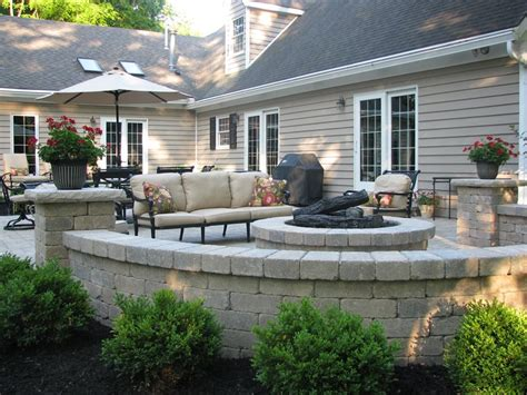 outdoor patios with pits fire pit new carlisle oh photo gallery landscaping network
