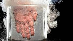 Putting Your Hand In Liquid Nitrogen Or 98  Sulfuric Acid