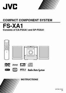 Diagram Manual Jvc Fs X3pactponent System