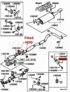 Viamoto Mitsubishi Car Parts Exhaust Rubber Mount