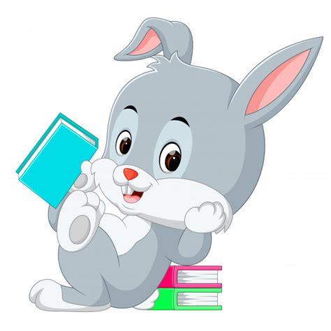 Libro de explotación de dibujos animados de conejo