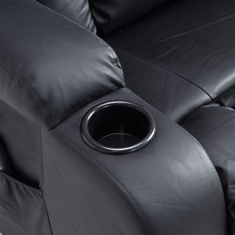 Overstuffed PU Leather Relaxing Therapeutic Massage