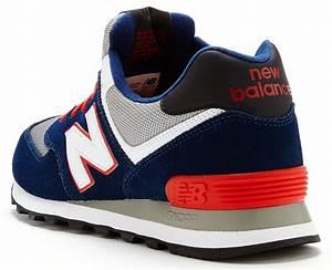 mens new balance ml574 classic retro trainers