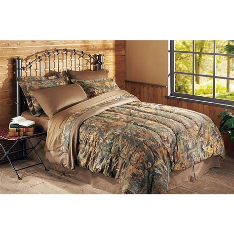 Realtree Bed by Guide Gear 174 Realtree 174 Advantage Timber 174 Camo Bedding Set