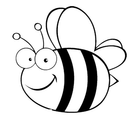 big bee coloring pages kids coloring pages pinterest