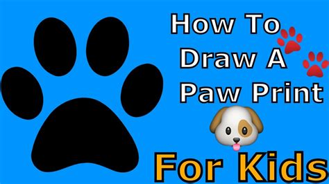 cat paw print drawing  getdrawingscom