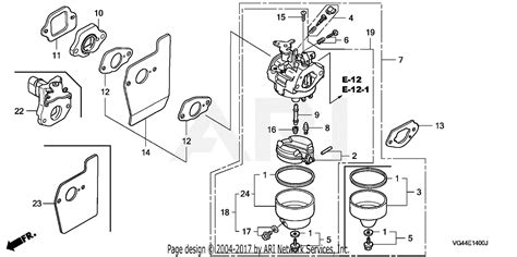 Honda Hrt Sda Lawn Mower Usa Vin Mzcg
