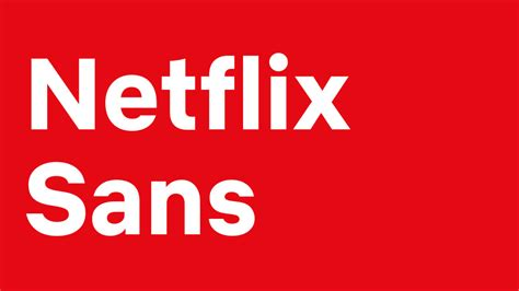 netflix created  clean custom font   save