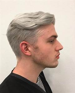 Latest Hair Trend Grey Hair Amp Pearl White For Men Amp ...