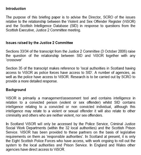scottish parliament justice  committee report