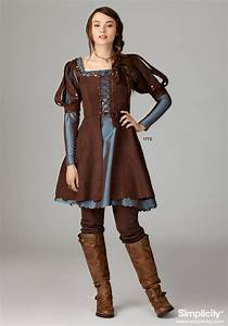 Misses' Medieval Dress Costume - This pattern comes in two ...
