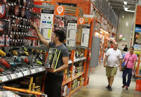 Home Depot Sales Jump Again Thanks To Sturdy Housing