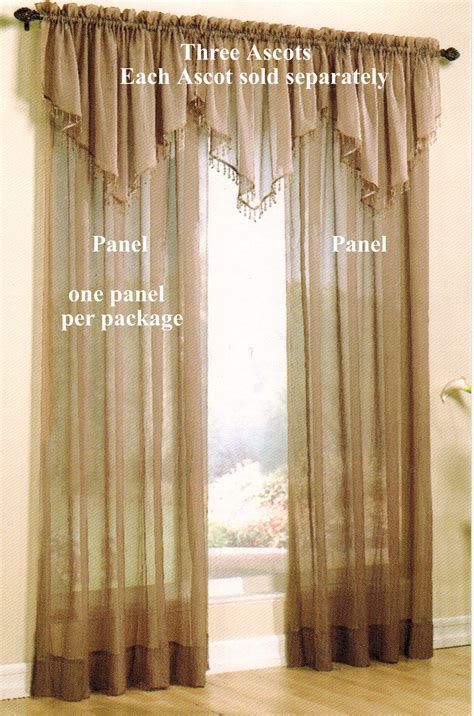 crinkled voile 72 quot tailored panel clearance