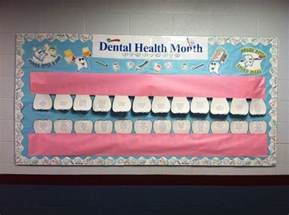Dental Health Month Bulletin Board Ideas