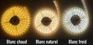 Ruban Led Blanc Froid : ruban led 220v 5050 inovatlantic ~ Dode.kayakingforconservation.com Idées de Décoration