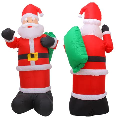 large inflatable santa claus in summer cloth for sale